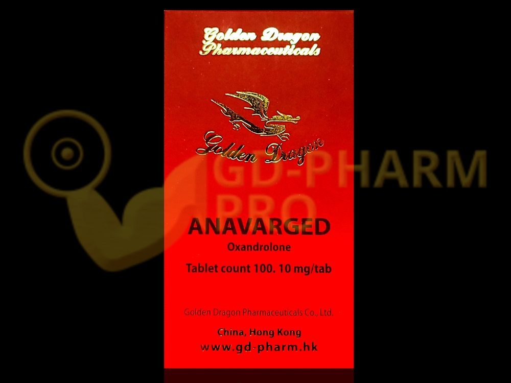 Anavarged Golden Dragon