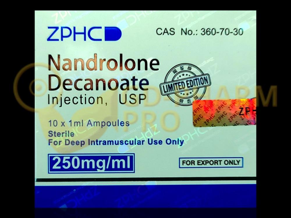 Nandrolone Decanoate ZPHC 1ml