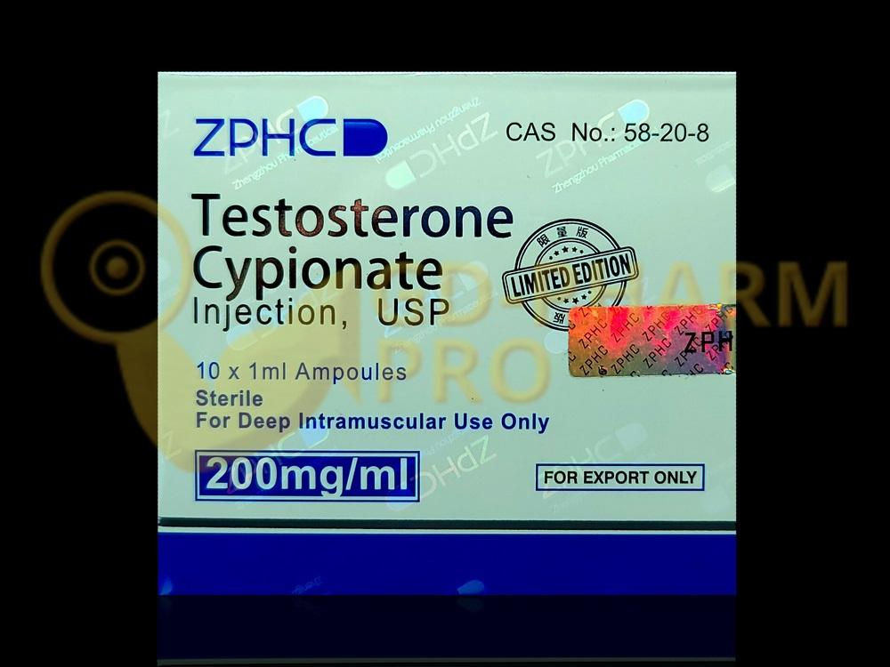 Testosterone Cypionate ZPHC 1ml