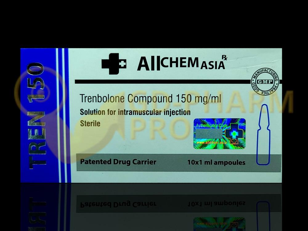 Tren 150 Allchem 1ml